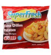 SUPERFRESH ELMA DİLİMİ 1000 GR