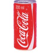 COCA ML COLA 200 ML.