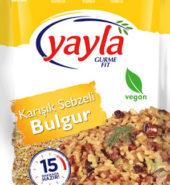 YAYLA KARIŞIK SEBZELİ BULGUR 350 GR