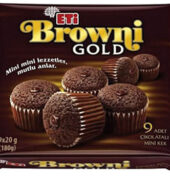 ETİ BROWNİ MİNİ GOLD 180 GR